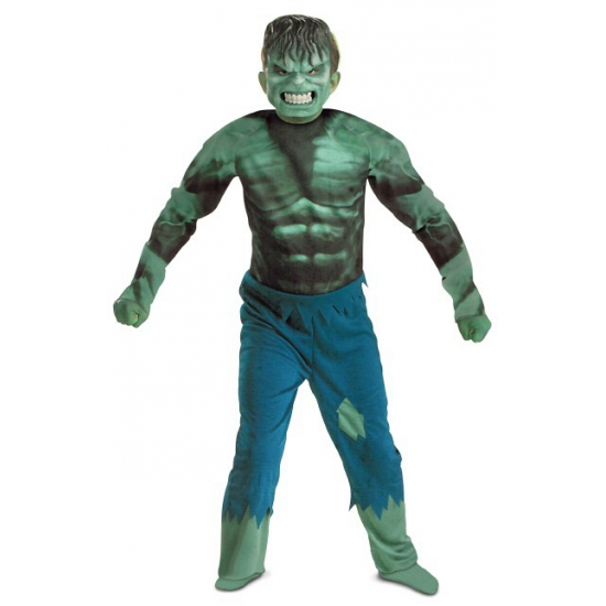 Incredible Hulk jumpsuit voor jongens