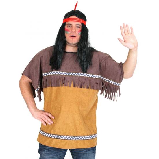 Indianen heren shirt