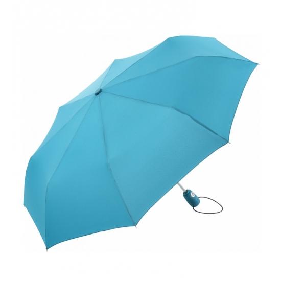Inklapbare paraplu lichtblauw