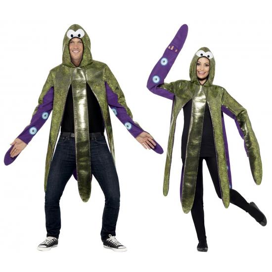 Inktvis carnavalskostuum volwassenen