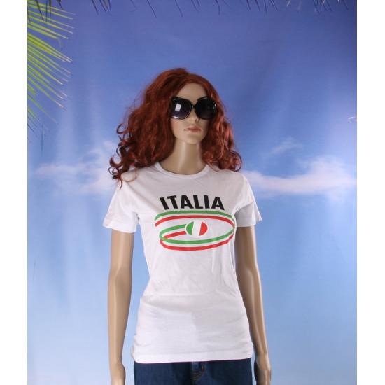 Italiaanse vlaggen t shirts voor dames