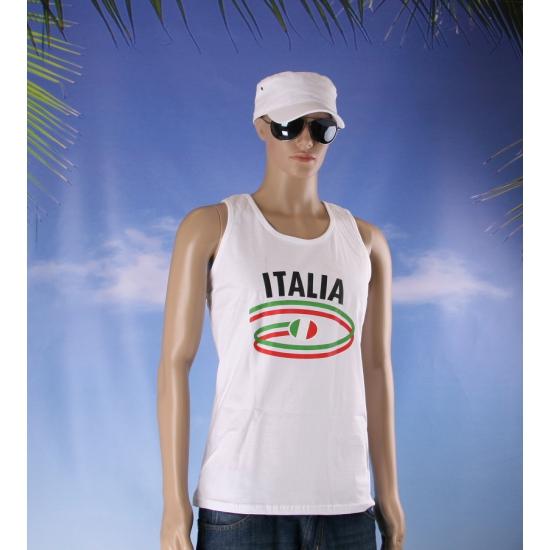 Italiaanse vlaggen tanktop voor heren