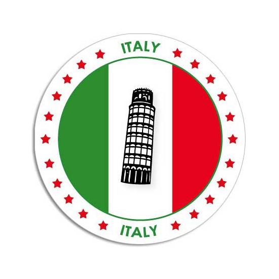 Italie stickers