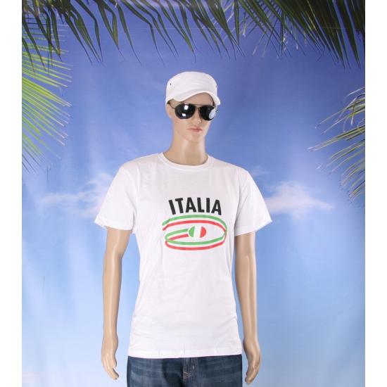 Italie vlaggen t shirts voor heren