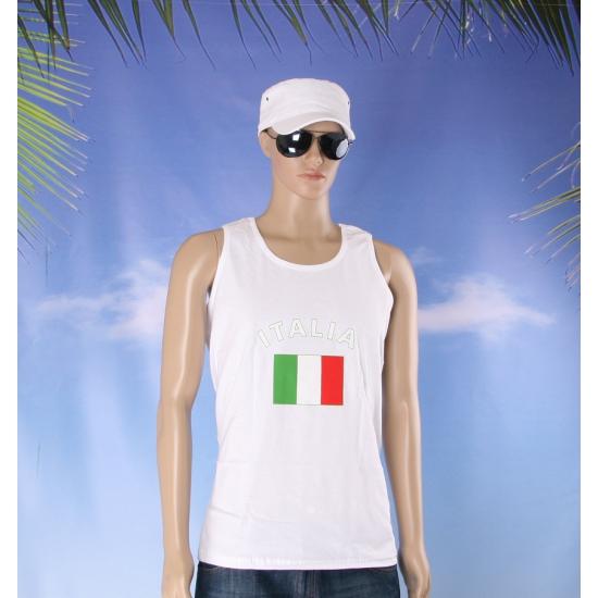 Italie vlaggen tanktop   t shirt