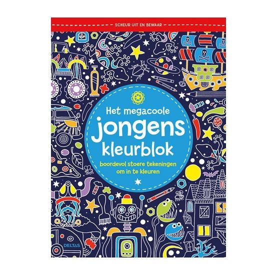 Jongens kleurboek