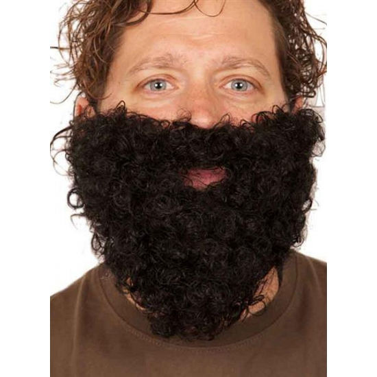 Kabouter baard zwart