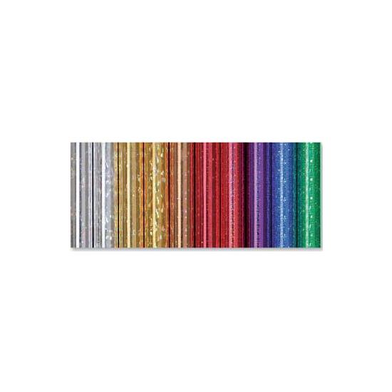 Kadopapier folie holografisch metallic