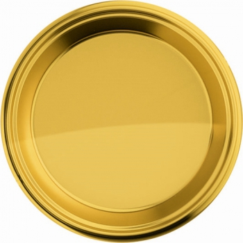 Kartonnen gouden borden 8 stuks