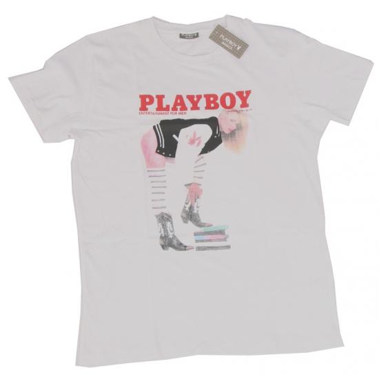 Katoenen shirt Playboy schoolgirl
