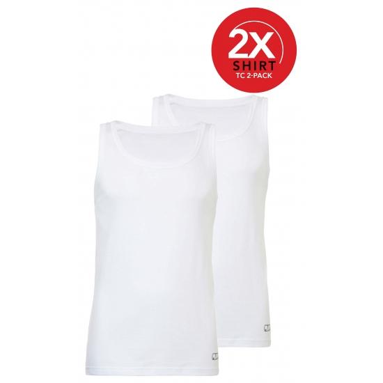 Katoenen Ten Cate hemden pakket wit