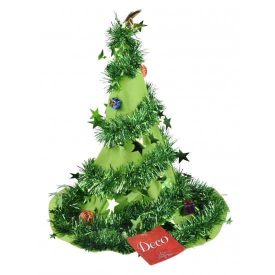 Kerstboom mutsen groen