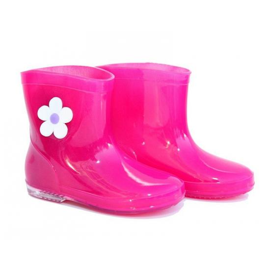 Kinder regenlaarsjes roze