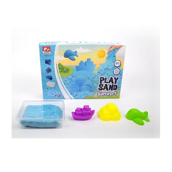 Kinder speelzand blauw 450 gram