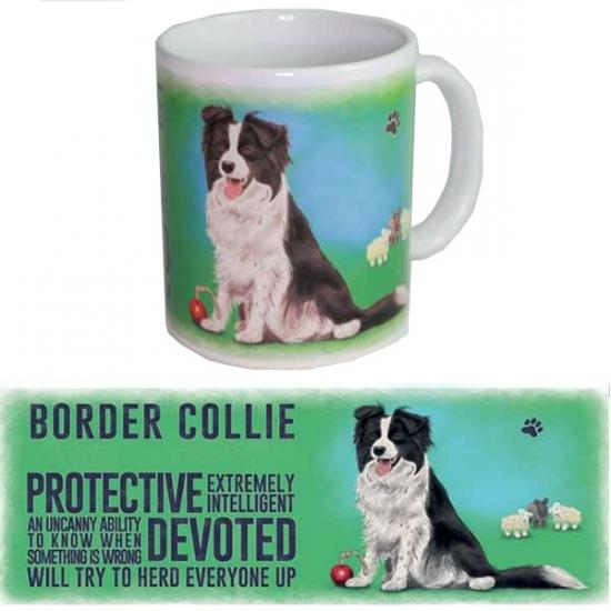 Koffie mok Border Collie hond 300 ml