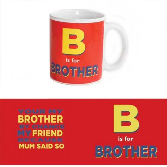 Koffie mok voor broer 300 ml