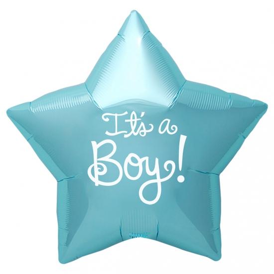 Kraamcadeau folie ballon Its a Boy