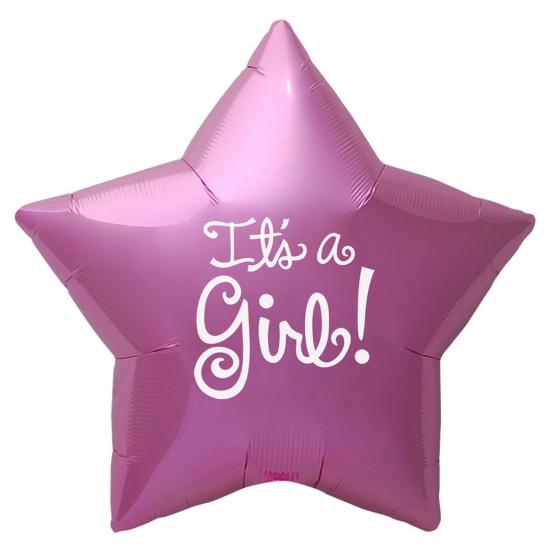 Kraamcadeau folie ballon Its a Girl