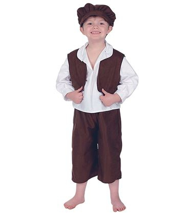 Kruimeltje kostuum voor kinderen
