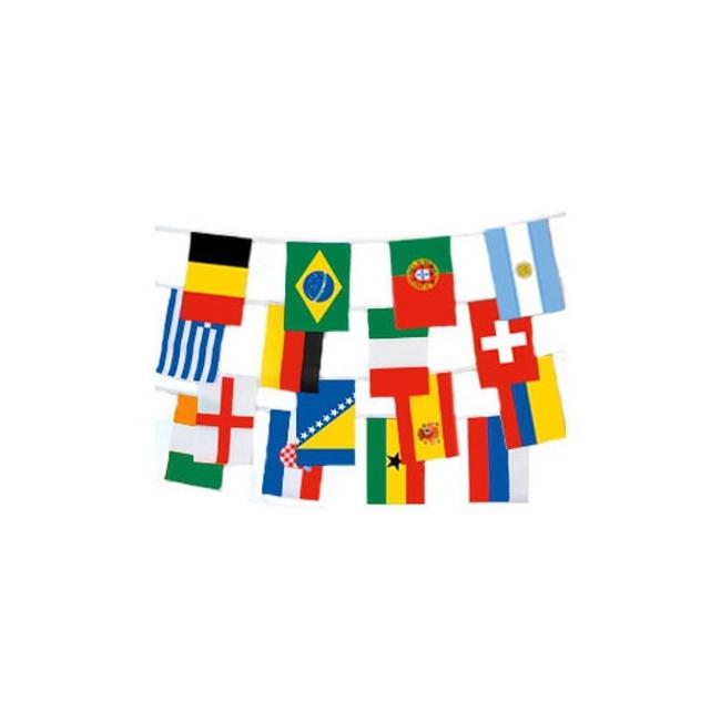Landen vlaggenlijn internationaal 9 m