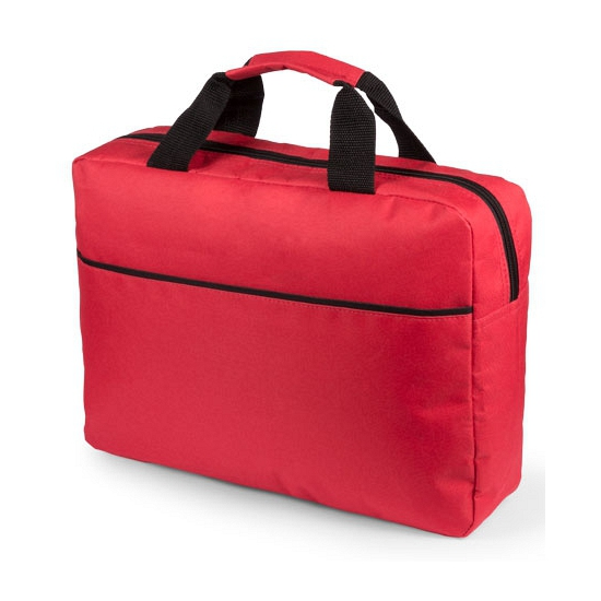 Laptoptas rood 38 cm