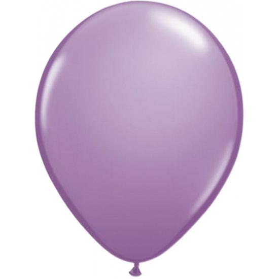 Lavendelkleurige ballonnen 50 stuks