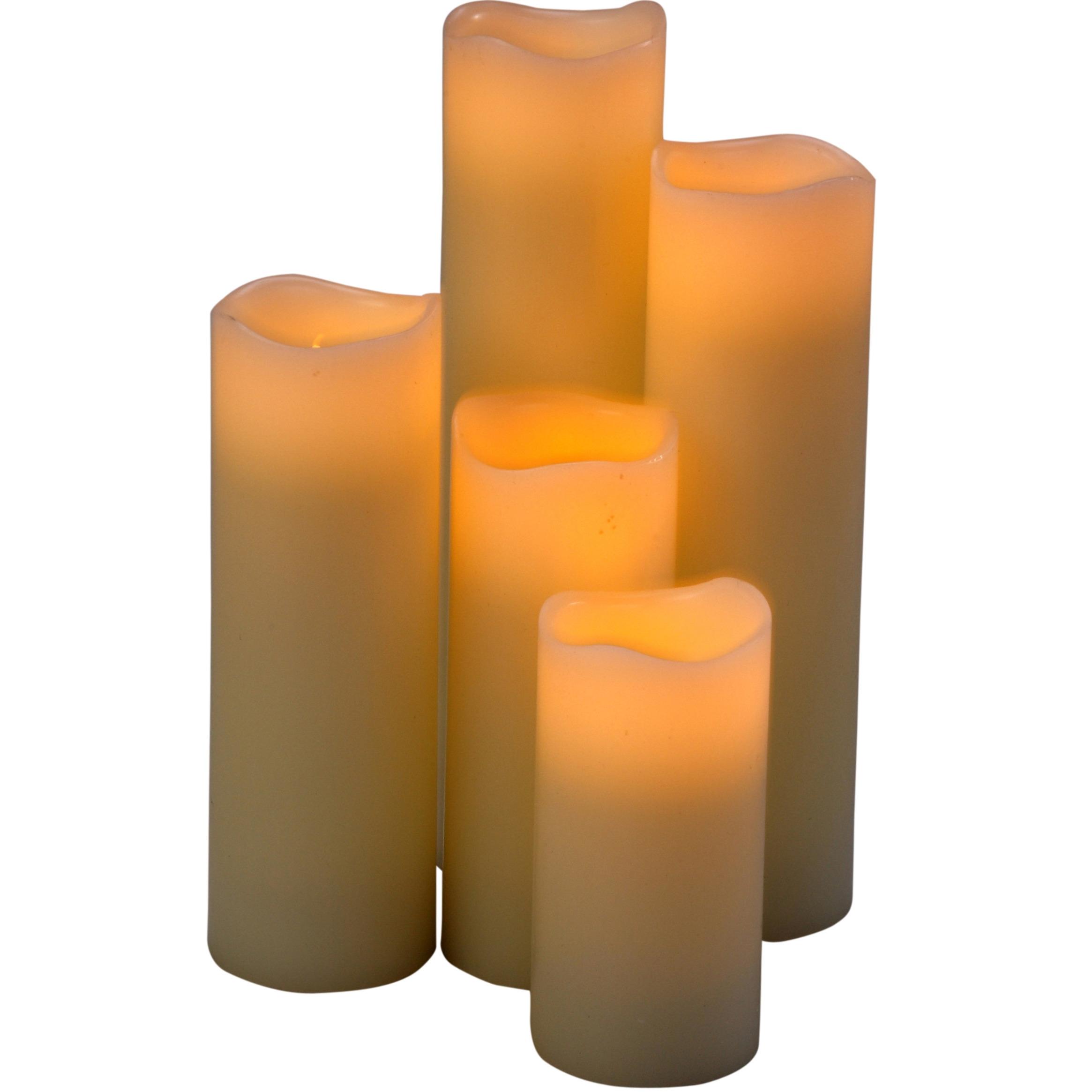LED kaarsen diverse formaten