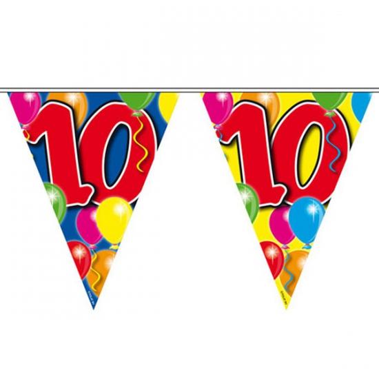 Leeftijd vlaggenlijnen 10 jaar