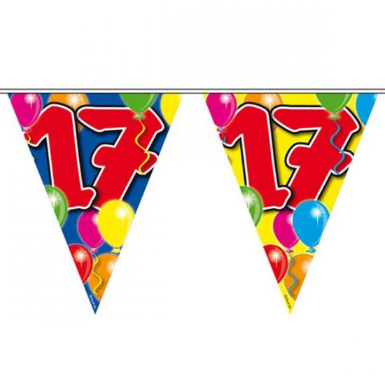 Leeftijd vlaggenlijnen 17 jaar