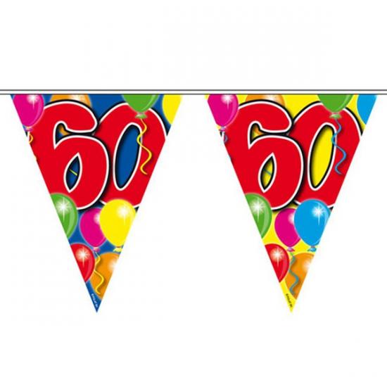 Leeftijd vlaggenlijnen 60 jaar