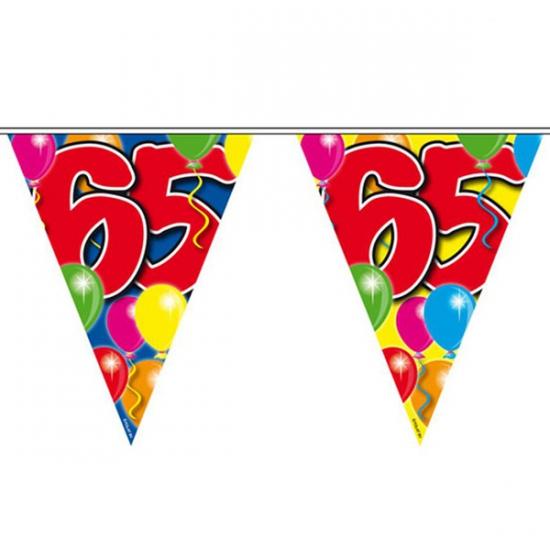 Leeftijd vlaggenlijnen 65 jaar