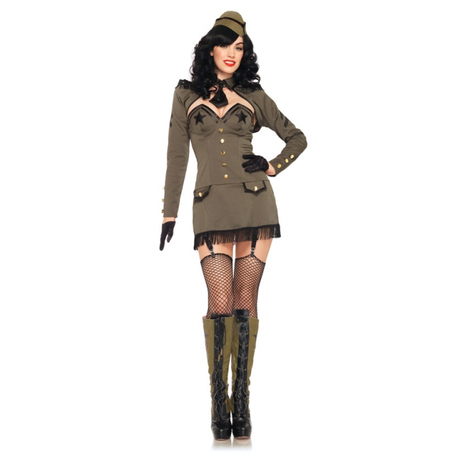Leg Avenue pin up army girl