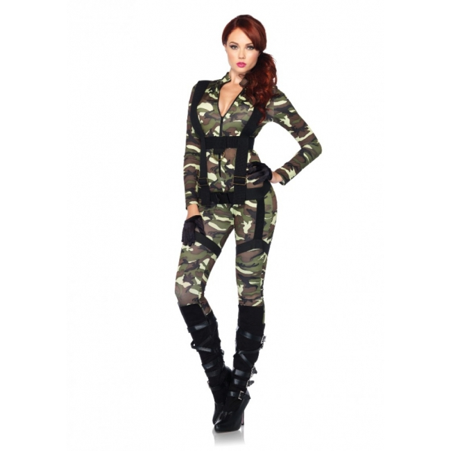 Leg Avenue Pretty Paratrooper kostuum
