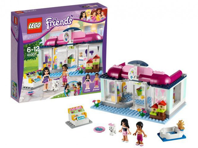 Lego Friends Heartlake City dierensalon speelset
