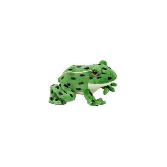 Luipaardkikker knuffel 18 cm