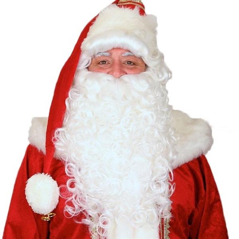 Luxe Kerstmannen baarden set