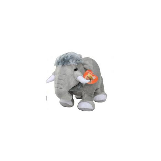 Mammoet knuffels grijs