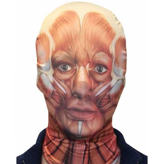 Masker met gevild gezicht