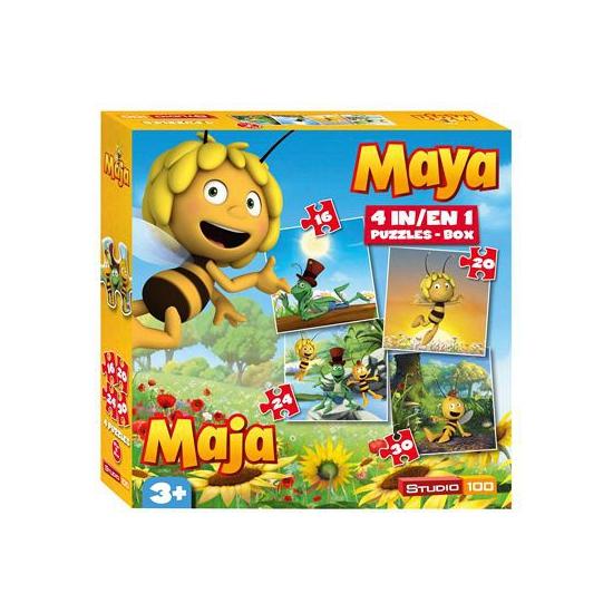 Maya de Bij puzzel 4 in 1