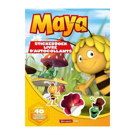 Maya de Bij stickerboek met 40 stickers