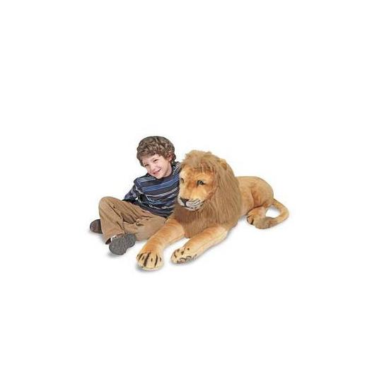 Mega leeuwen knuffel 190 cm