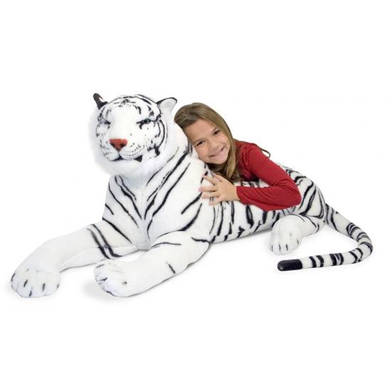 Mega witte tijger 170 cm