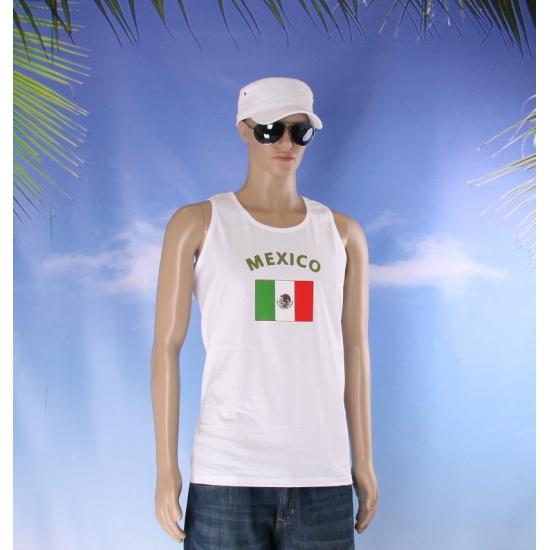 Mexicaanse vlaggen tanktop  t shirt