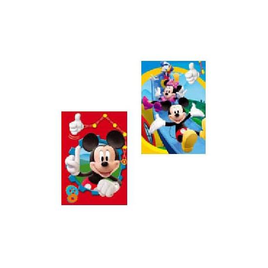 Mickey Mouse kaarten 6 stuks