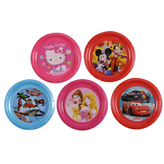 Mickey Mouse kinder bord 21 cm