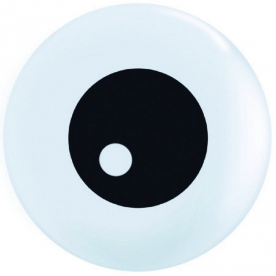 Mini ballonnetje oogbal 13 cm