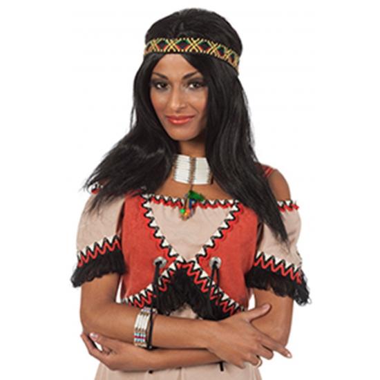 Native American pruik voor dames