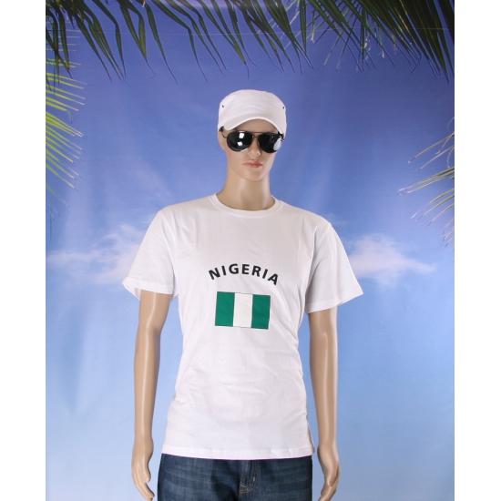 Nigeriaanse vlag  t  shirts