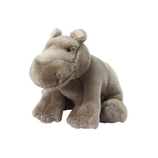 Nijlpaard knuffeldier 18 cm