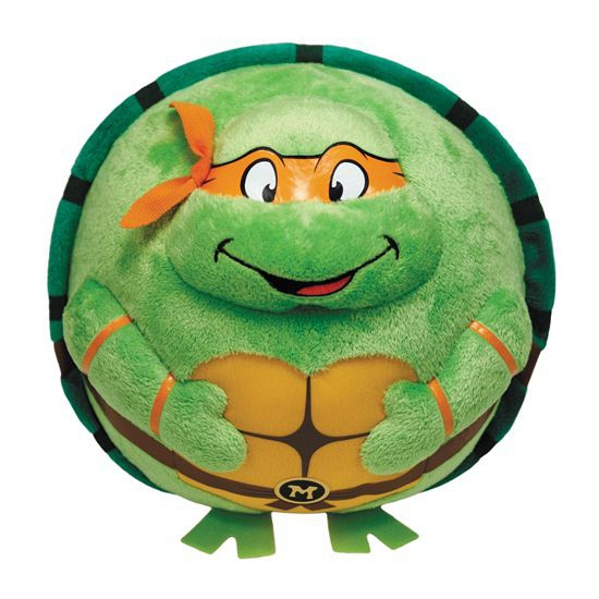 Ninja Turtles knuffel Michel Angelo 12 cm